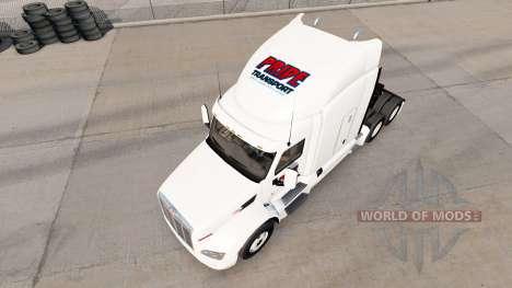El orgullo de Transporte de la piel para el cami para American Truck Simulator