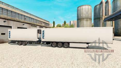 Semi-Remolque Krone Gigaliner [Pema] para Euro Truck Simulator 2