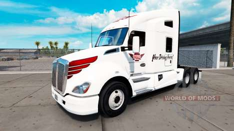 La piel en Keystone Occidental tractor Kenworth para American Truck Simulator