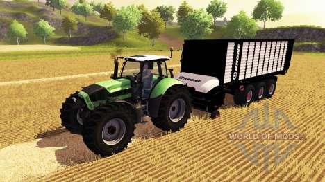 Krone ZX 550 para Farming Simulator 2013