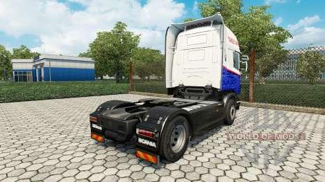 Yearsley de la piel para Scania camión para Euro Truck Simulator 2