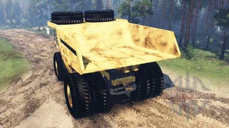 Camión de minería de datos Godzilla v2.0 para Spin Tires