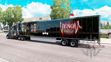 Piel el Veneno en el trailer para American Truck Simulator