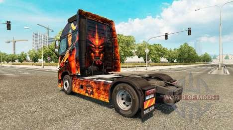 Diablo II de la piel para camiones Volvo para Euro Truck Simulator 2