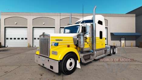 La piel de Porter en el camión Kenworth W900 para American Truck Simulator