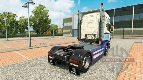 Caffrey Internacional de la piel para Scania cam para Euro Truck Simulator 2