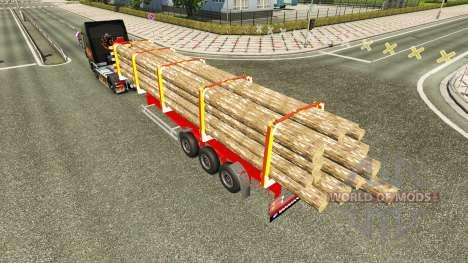 Camión Semi-remolque para Euro Truck Simulator 2