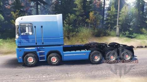 Renault Magnum 10x10 v3.0 para Spin Tires