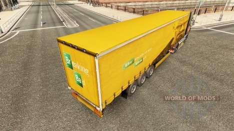 La piel de Walter White en el trailer para Euro Truck Simulator 2