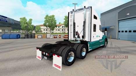 Mascaró de Camiones de la piel para Kenworth tra para American Truck Simulator