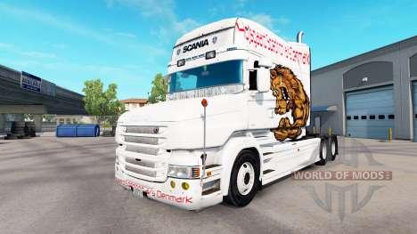 De piel de oso para camión Scania T para American Truck Simulator