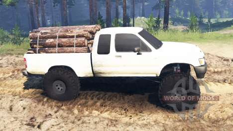 Toyota Hilux Extra Cab 1994 para Spin Tires