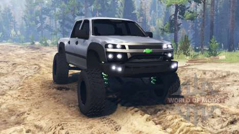 Chevrolet Colorado v2.0 para Spin Tires