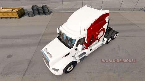 Dragon Age de la piel para el camión Peterbilt para American Truck Simulator