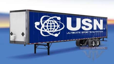 De metal semi-USN para American Truck Simulator