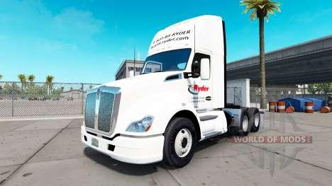 La piel en la Ryder camión Kenworth para American Truck Simulator