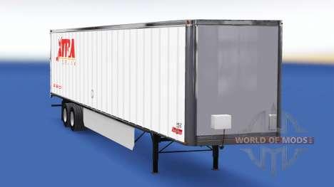 La piel Extra de Arrendamiento en el remolque para American Truck Simulator