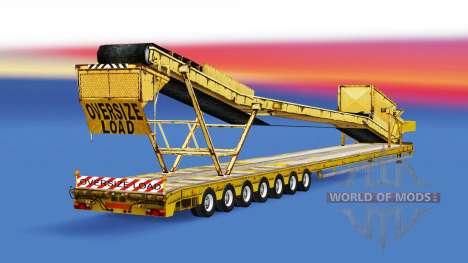 Baja de barrido con diferentes cargas. para American Truck Simulator