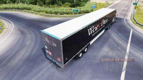 La piel Winn Dixie en el remolque para American Truck Simulator