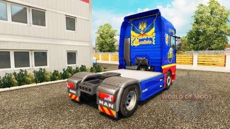 Rumano de piel para HOMBRE camión para Euro Truck Simulator 2