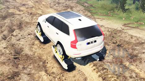 Volvo XC90 para Spin Tires