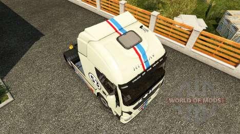Herbie piel para Iveco tractora para Euro Truck Simulator 2