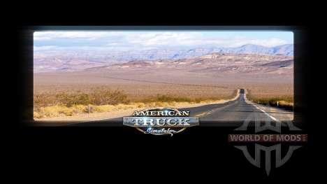 Pantallas de carga de California para American Truck Simulator