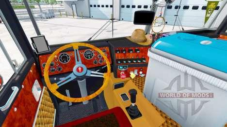 Kenworth K100 Long v2.0 para American Truck Simulator