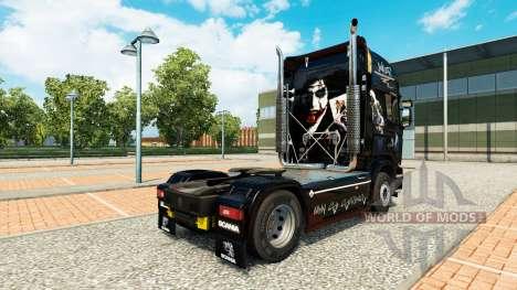 Bromista de la piel para Scania camión para Euro Truck Simulator 2