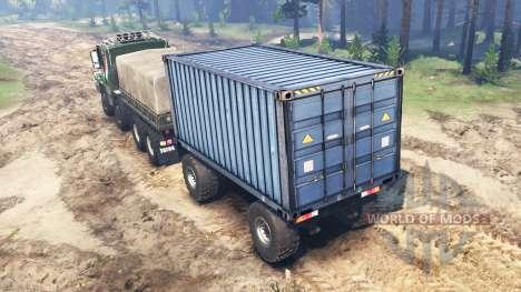 Tatra 163 Jamal 8x8 para Spin Tires