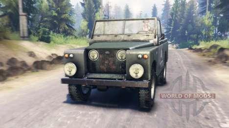 Land Rover Series I para Spin Tires