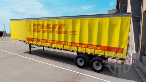 Una colección de skins para remolques para American Truck Simulator