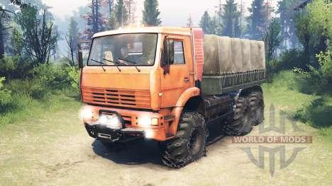 KamAZ-6522 [actualizado] para Spin Tires