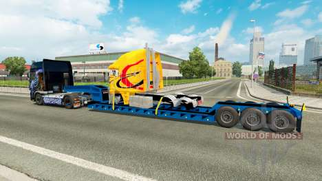 Baja barrido con un camión averiado para Euro Truck Simulator 2