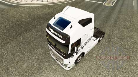 Dietrich piel para camiones Volvo para Euro Truck Simulator 2