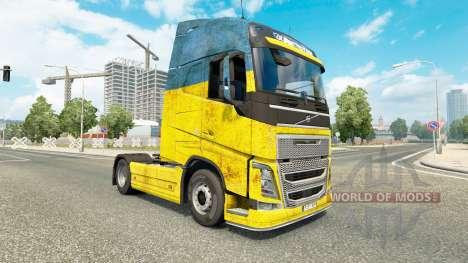 Ucrania piel para camiones Volvo para Euro Truck Simulator 2