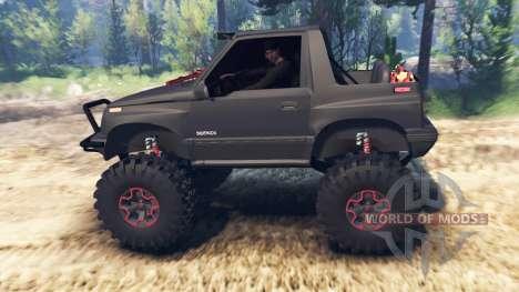 Suzuki Sidekick v2.0 para Spin Tires