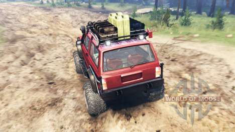 Jeep Cherokee SE para Spin Tires