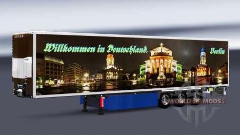 Pieles en refrigerada semi-remolque para Euro Truck Simulator 2