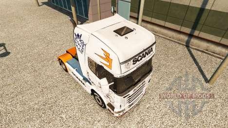 De la piel para Scania R2009 camión Scania para Euro Truck Simulator 2