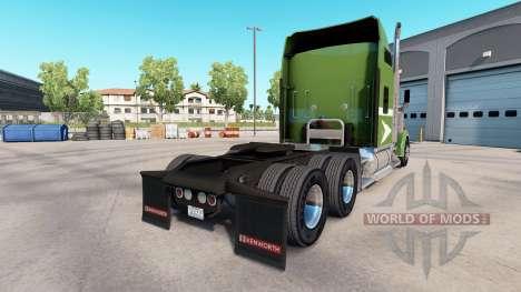 La piel De pasar el camión Kenworth W900 para American Truck Simulator