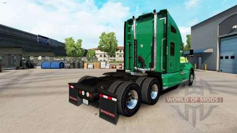 La piel en Freightlines Kenworth tractor para American Truck Simulator