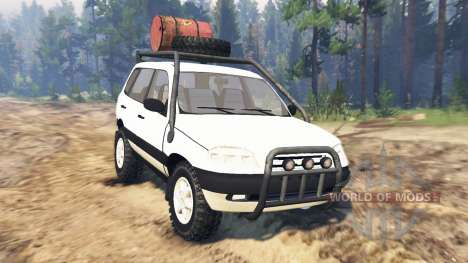 ВАЗ-21236 Chevrolet Niva para Spin Tires