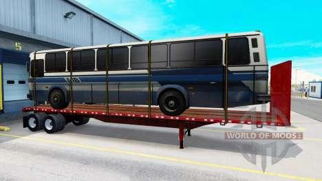 Una colección de nuevos trailers con carga para American Truck Simulator