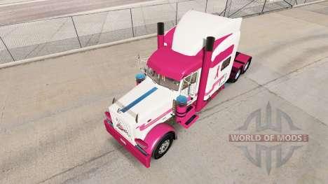 La piel de Camiones de una Cura para el camión P para American Truck Simulator