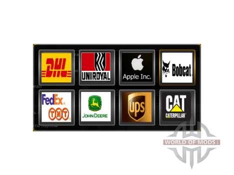 Logotipos de empresas para American Truck Simulator