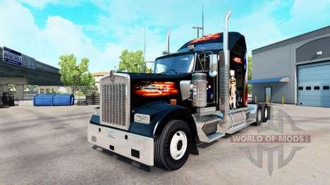 La piel, estados UNIDOS camión Kenworth W900 para American Truck Simulator