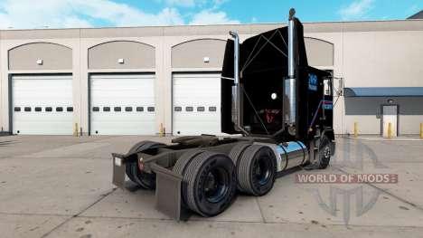 La piel Terminator 2 camión Freightliner FLB para American Truck Simulator