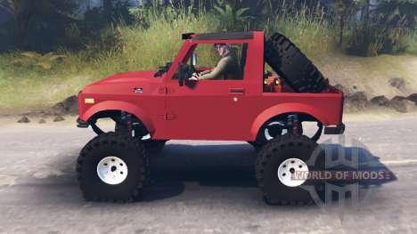 Suzuki Samurai para Spin Tires