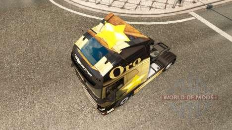 Oro de la piel para camiones Volvo para Euro Truck Simulator 2